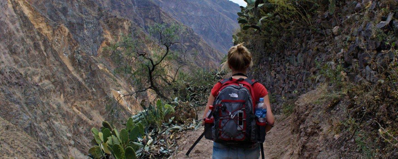 Caminata al cañon del Colca desde Puno