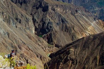 colca canyon trek from arequipa