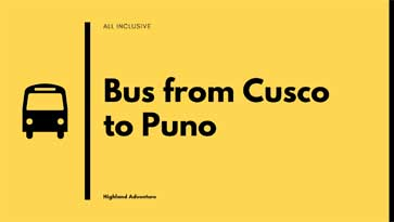 cusco to puno bus price