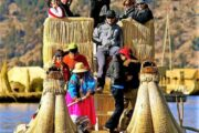 reed boat uros