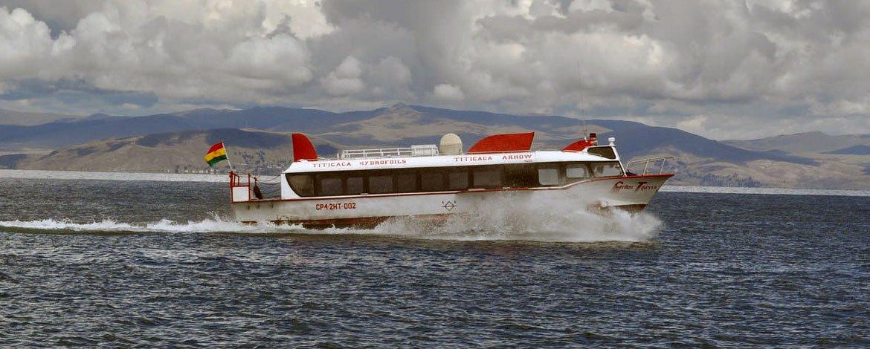 Sun islands tour by hydrofoil