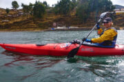 kayak from llachon to taquile