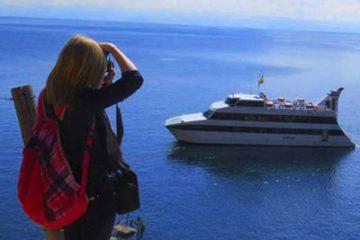 lake titicaca bolivia cruise catamaran