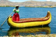 reed boat floating islands tours